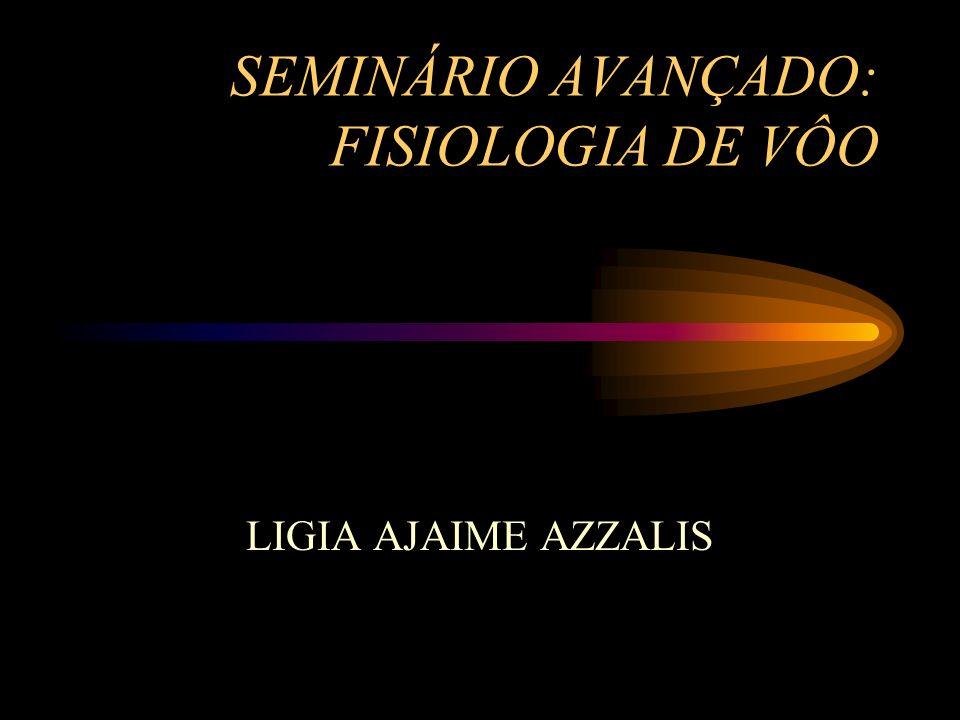 SEMINÁRIO AVANÇADO: FISIOLOGIA DE VÔO