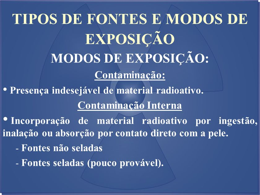 TIPOS DE FONTES E MODOS DE EXPOSIÇÃO