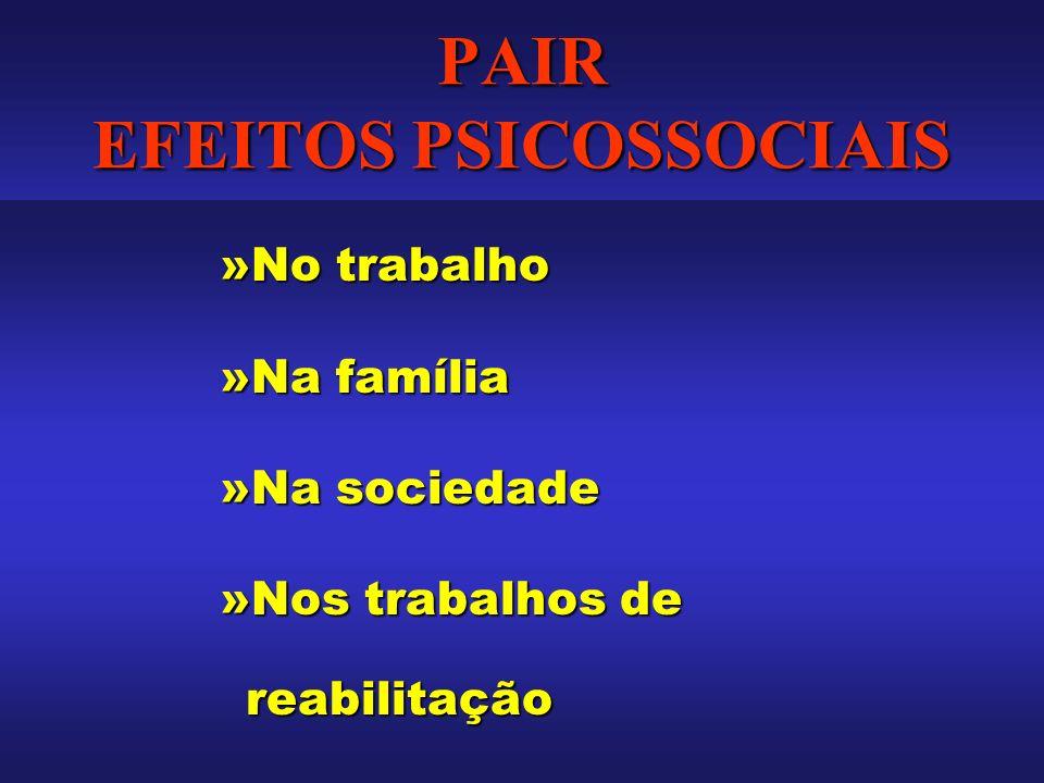 PAIR EFEITOS PSICOSSOCIAIS
