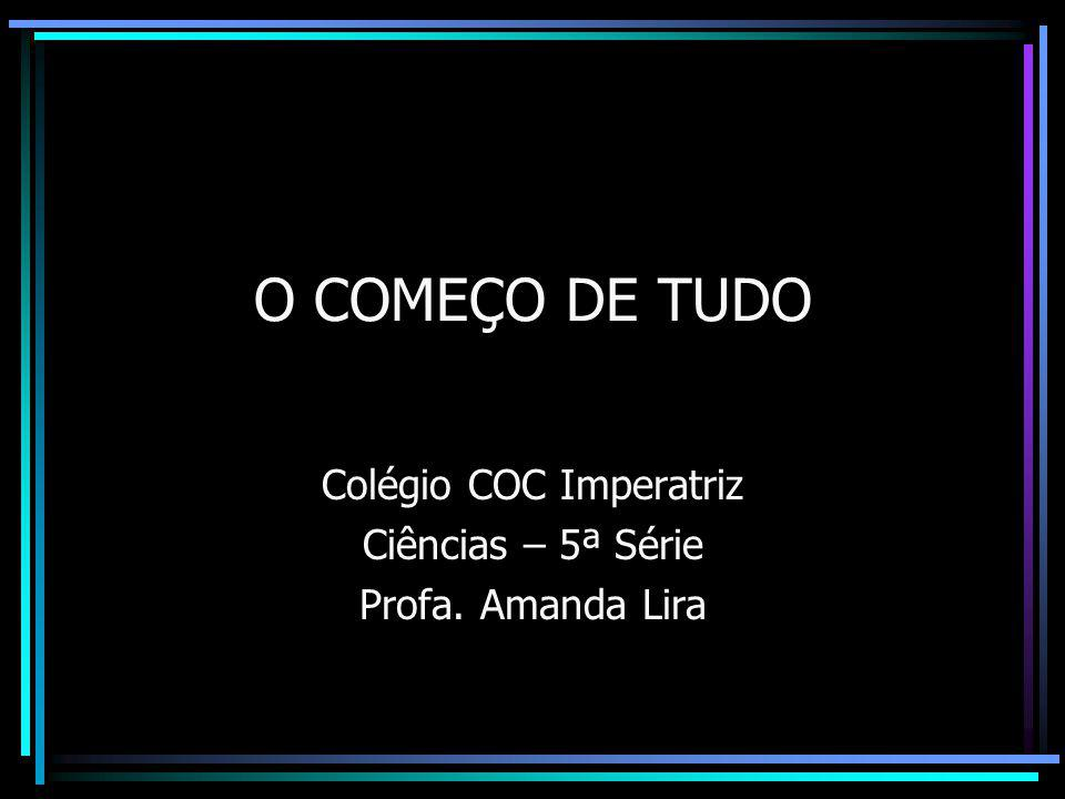 Colégio COC Imperatriz Ciências – 5ª Série Profa. Amanda Lira