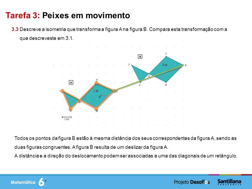 Tarefa 3: Peixes em movimento
