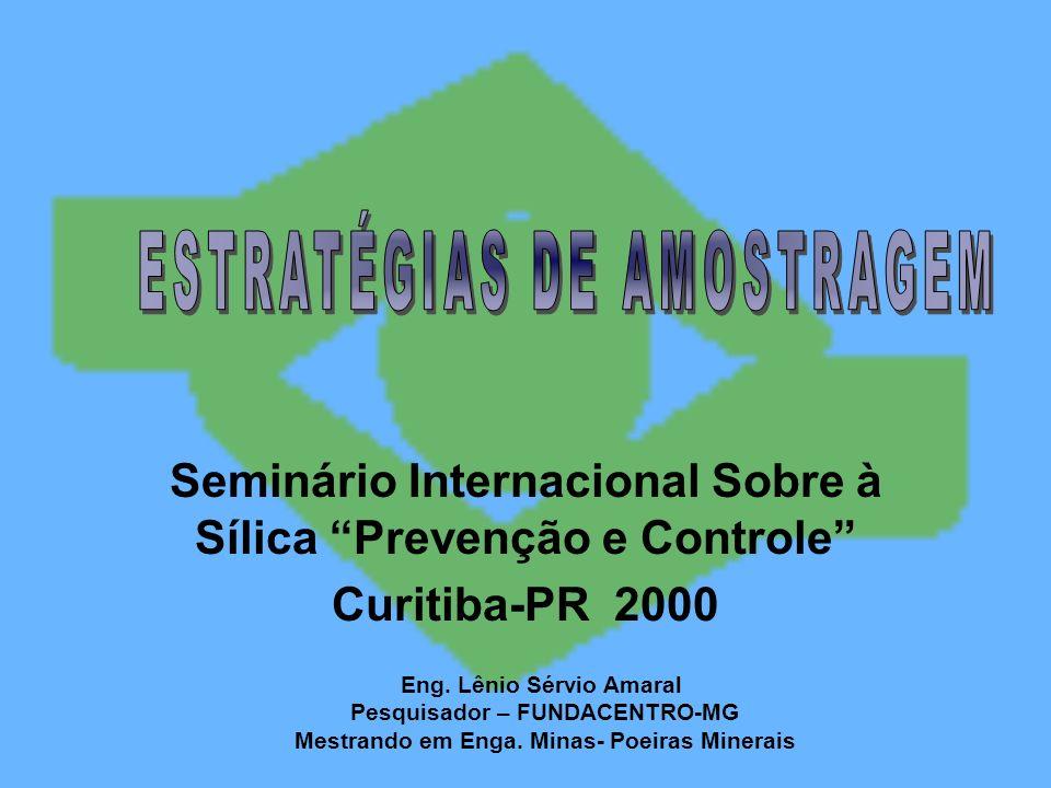 ESTRATÉGIAS DE AMOSTRAGEM
