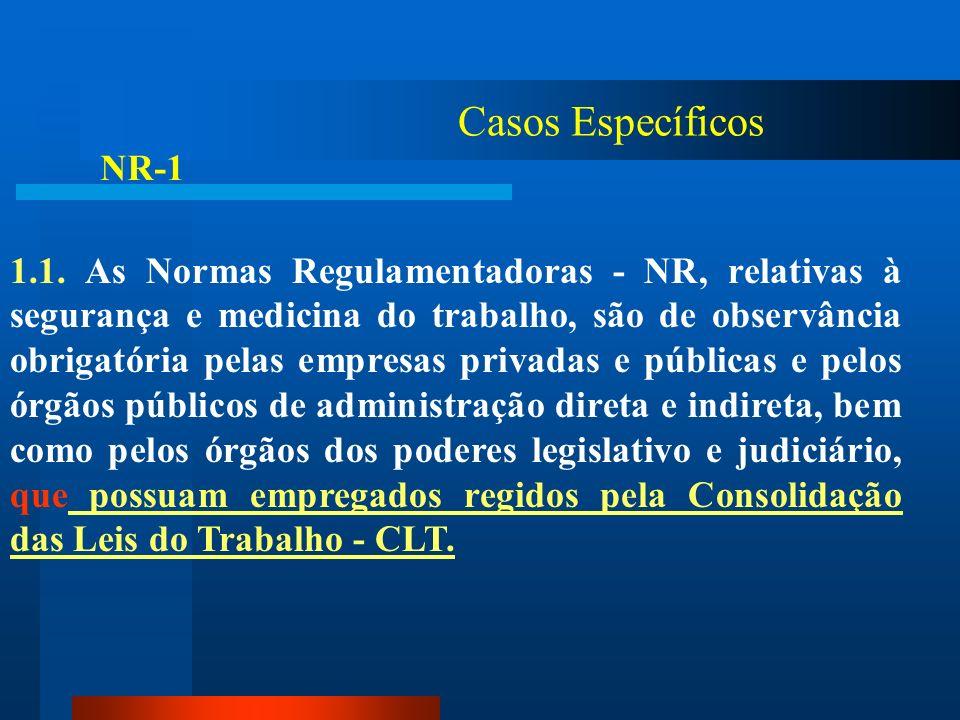 Casos Específicos NR-1.