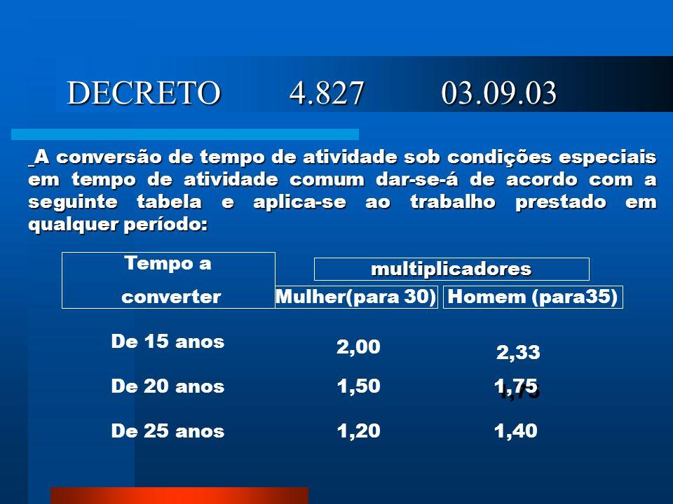 DECRETO 4.827 03.09.03