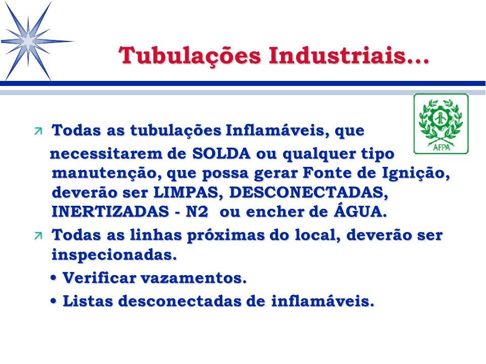 Tubulações Industriais...