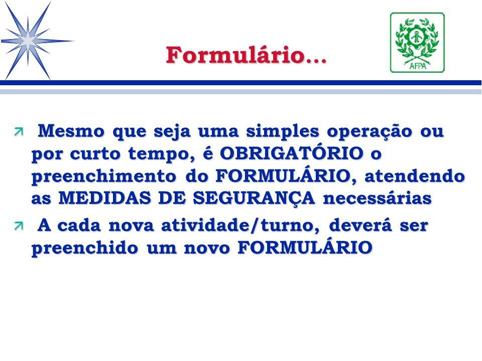 Formulário...