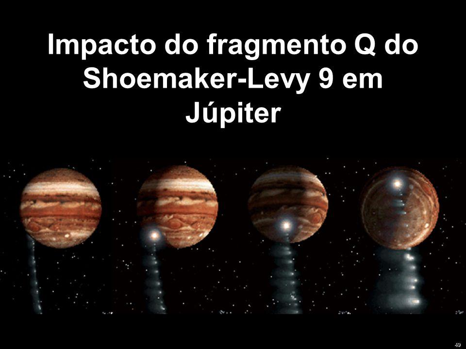 Impacto do fragmento Q do Shoemaker-Levy 9 em Júpiter