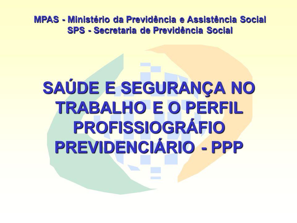 MPAS - Ministério da Previdência e Assistência Social