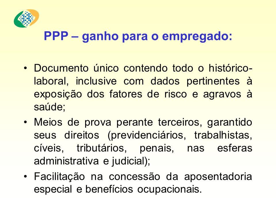 PPP – ganho para o empregado:
