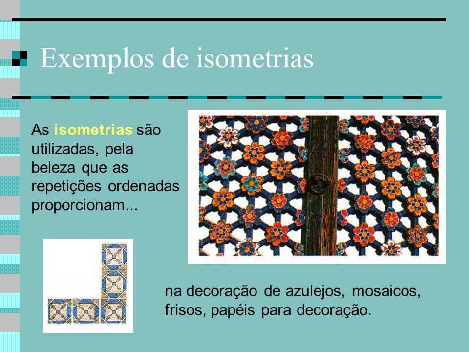 Exemplos de isometrias