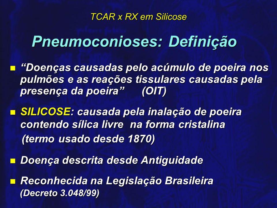 Pneumoconioses: Definição