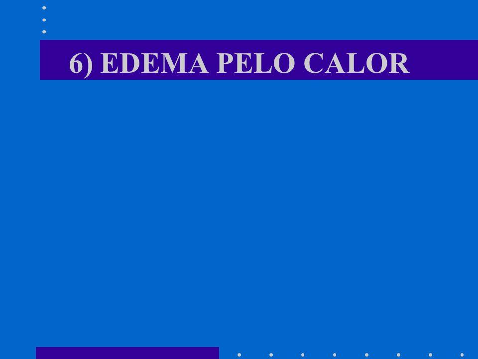 6) EDEMA PELO CALOR