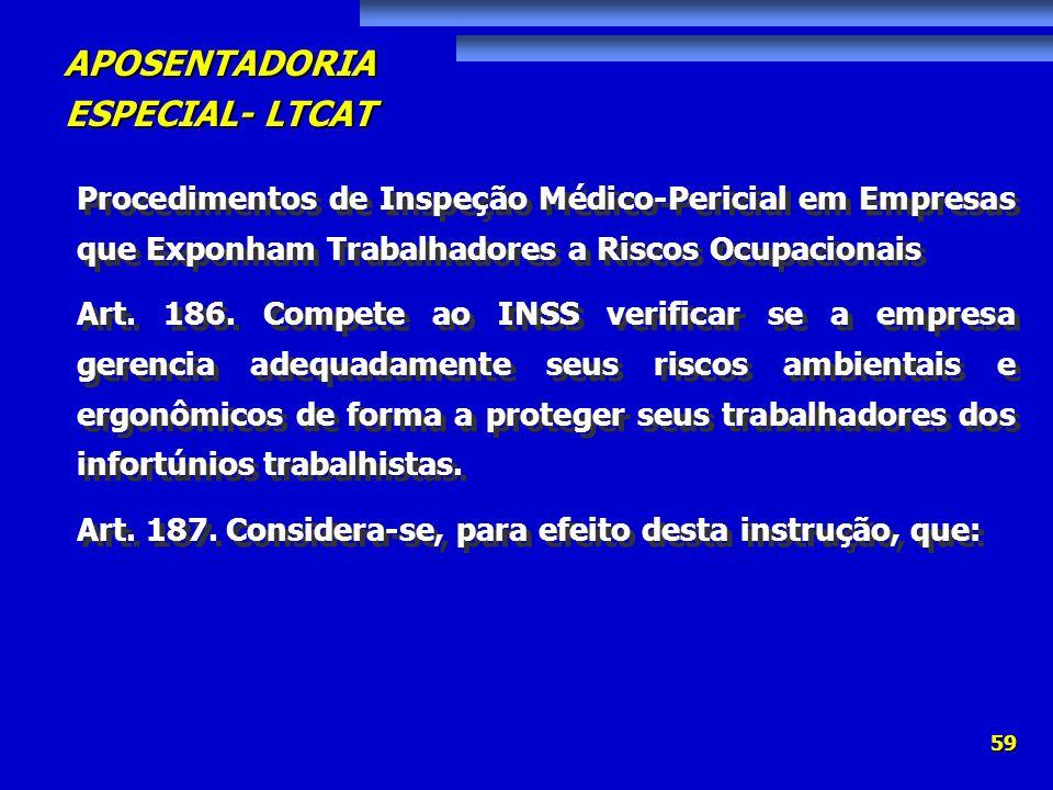 Procedimentos de Inspeção Médico-Pericial em Empresas que Exponham Trabalhadores a Riscos Ocupacionais