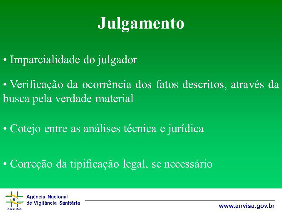 Julgamento Imparcialidade do julgador