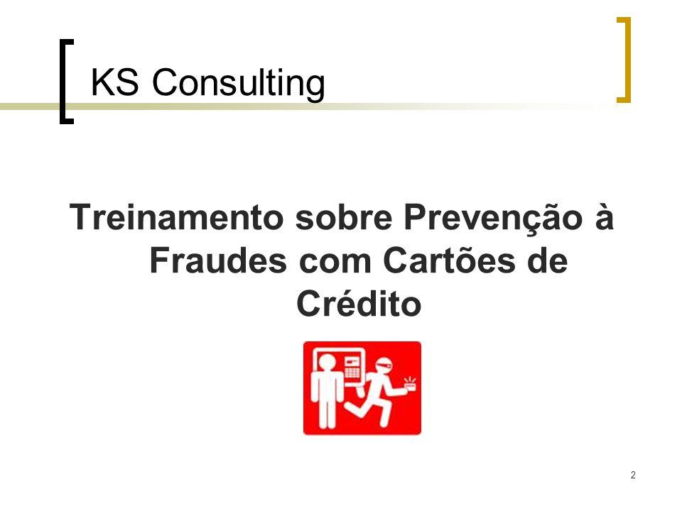 Treinamento sobre Prevenção à Fraudes com Cartões de Crédito