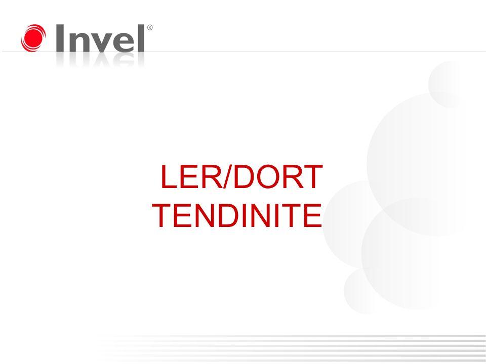 LER/DORT TENDINITE