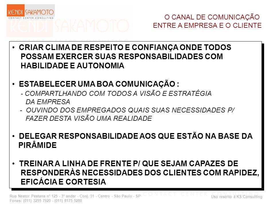 CRIAR CLIMA DE RESPEITO E CONFIANÇA ONDE TODOS