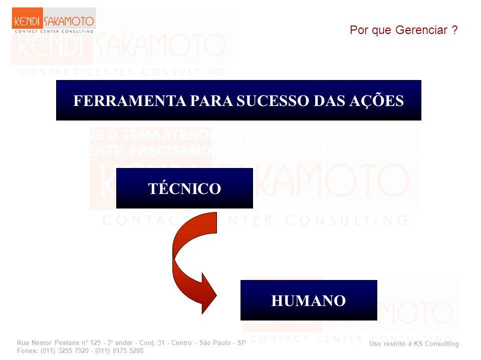 FERRAMENTA PARA SUCESSO DAS AÇÕES TÉCNICO HUMANO