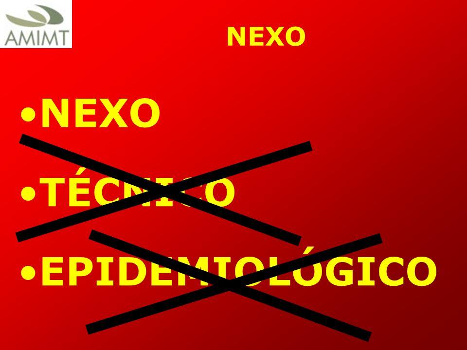 NEXO NEXO TÉCNICO EPIDEMIOLÓGICO