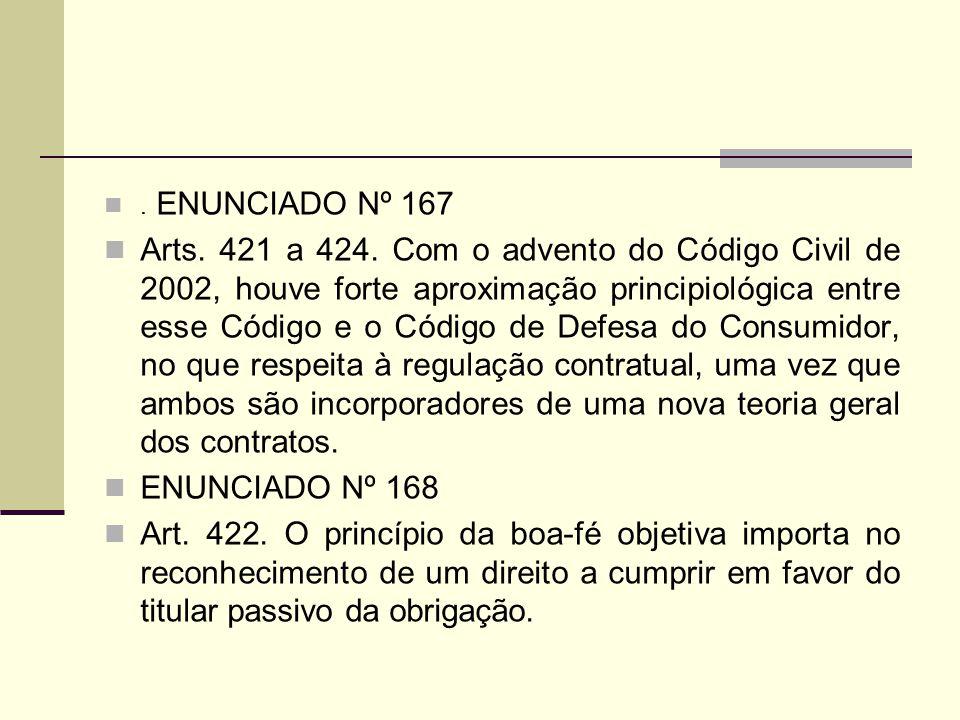 . ENUNCIADO Nº 167