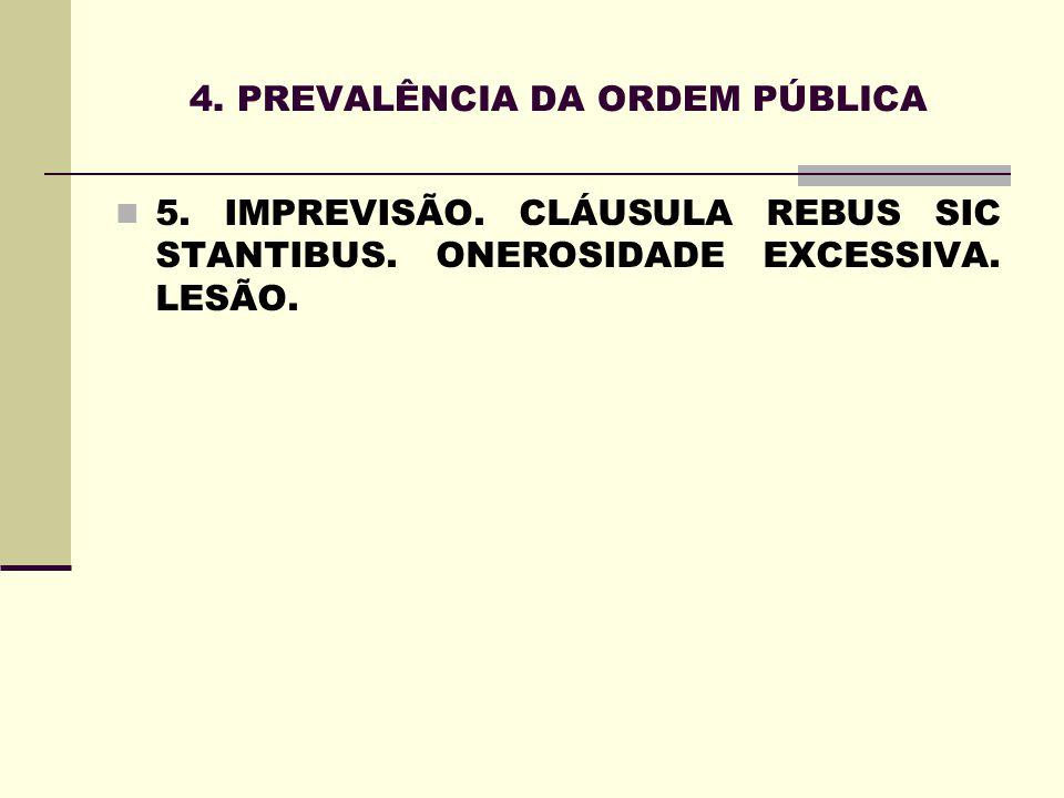 4. PREVALÊNCIA DA ORDEM PÚBLICA