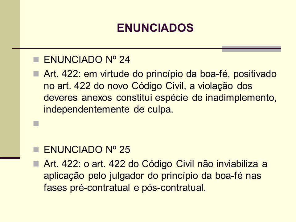 ENUNCIADOS ENUNCIADO Nº 24