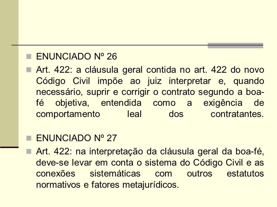 ENUNCIADO Nº 26
