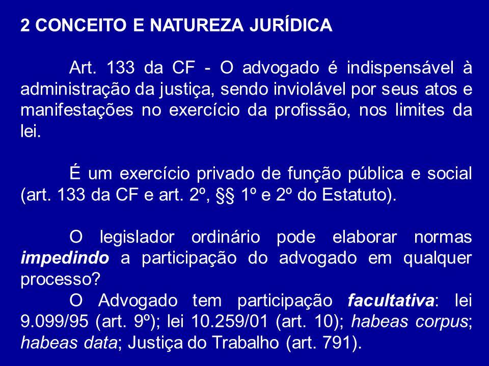 2 CONCEITO E NATUREZA JURÍDICA