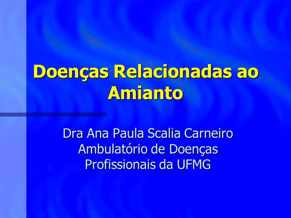 Doenças Relacionadas ao Amianto