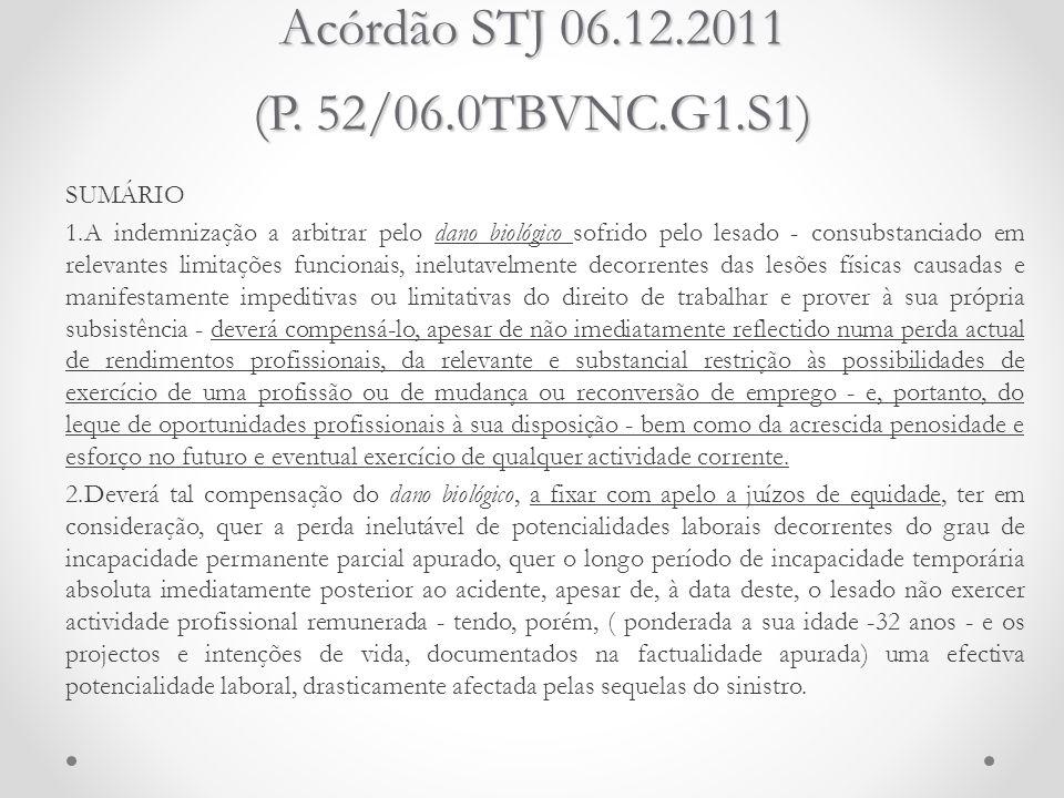 Acórdão STJ 06.12.2011 (P. 52/06.0TBVNC.G1.S1)