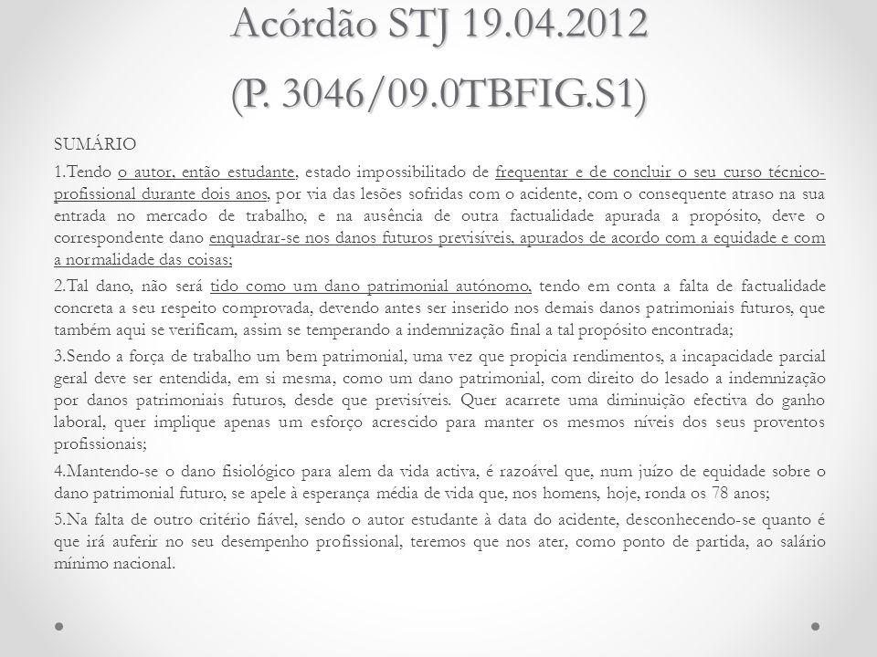 Acórdão STJ 19.04.2012 (P. 3046/09.0TBFIG.S1)
