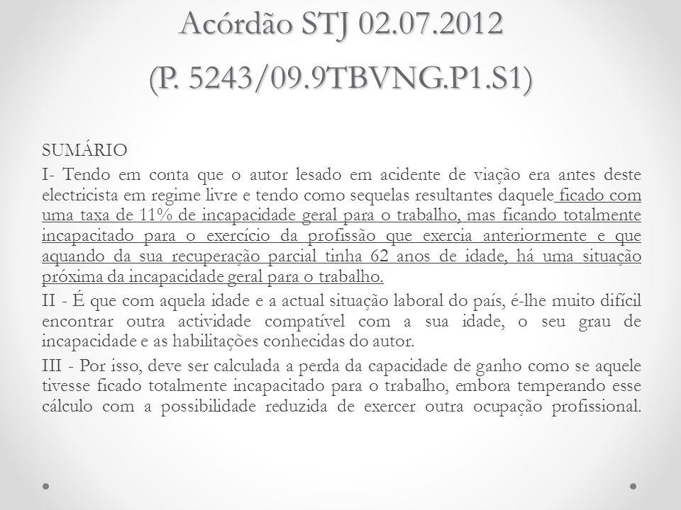Acórdão STJ 02.07.2012 (P. 5243/09.9TBVNG.P1.S1)