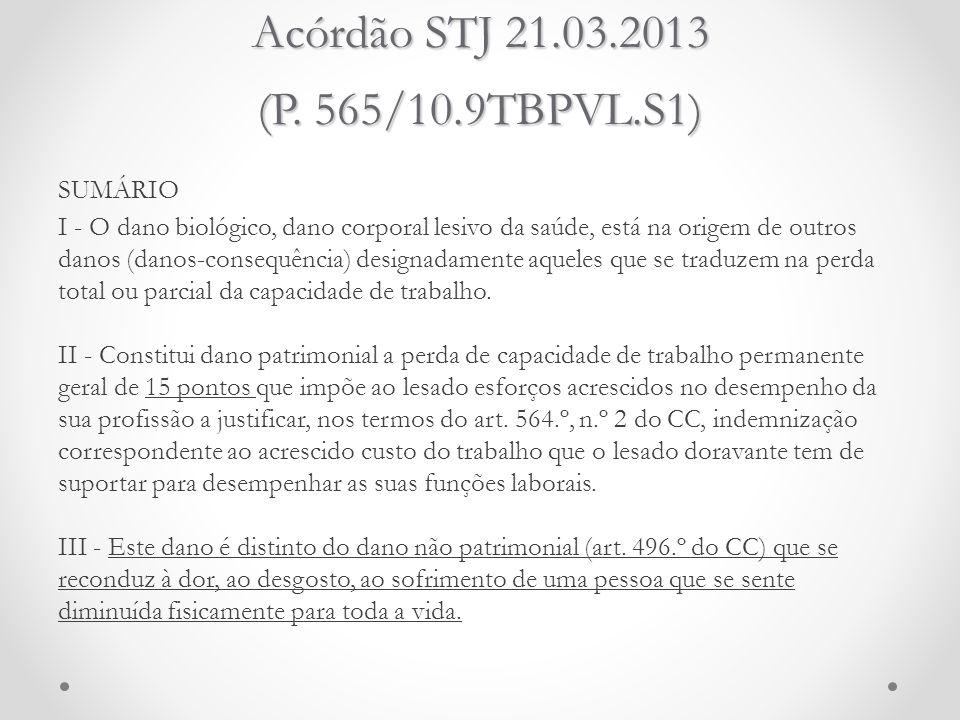 Acórdão STJ 21.03.2013 (P. 565/10.9TBPVL.S1)