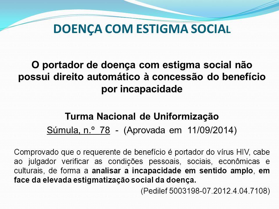 DOENÇA COM ESTIGMA SOCIAL