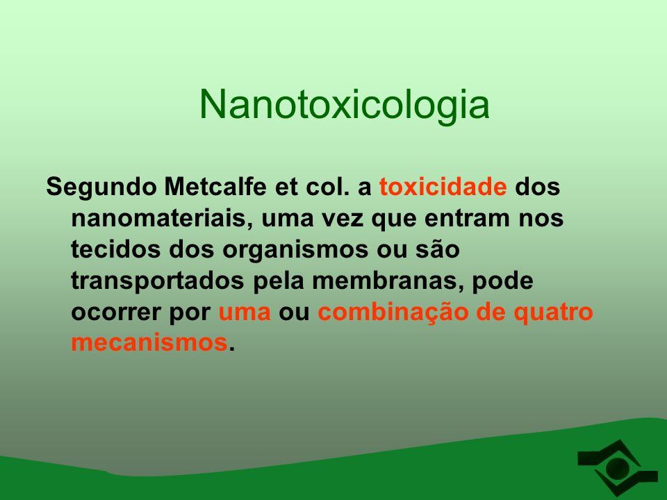 Nanotoxicologia