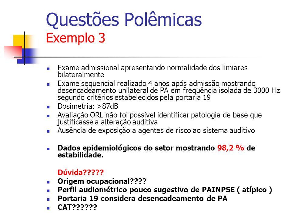 Questões Polêmicas Exemplo 3