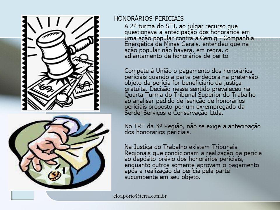 HONORÁRIOS PERICIAIS