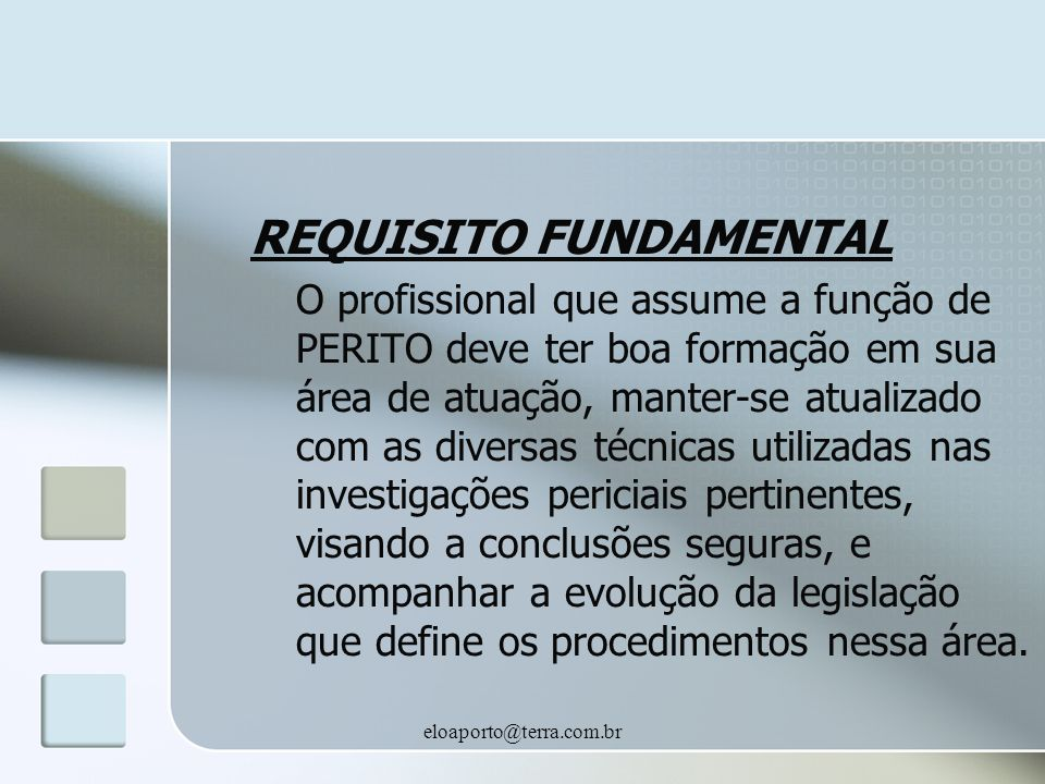 REQUISITO FUNDAMENTAL