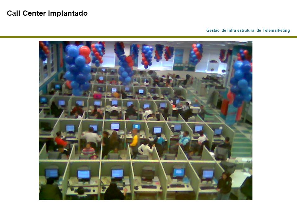 Call Center Implantado