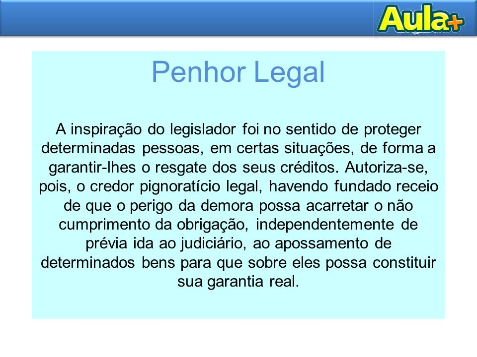 Penhor Legal