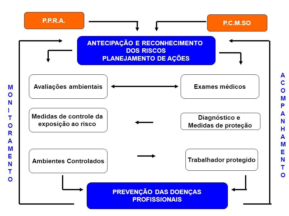 ANTECIPAÇÃO E RECONHECIMENTO DOS RISCOS PLANEJAMENTO DE AÇÕES