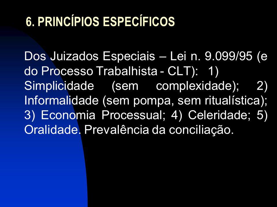 6. PRINCÍPIOS ESPECÍFICOS