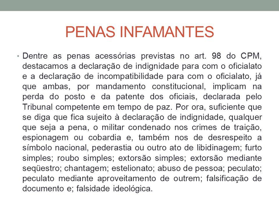 PENAS INFAMANTES