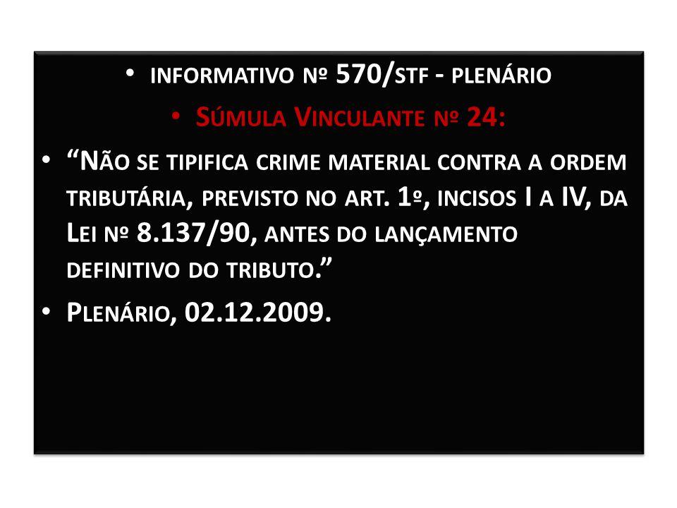informativo nº 570/stf - plenário