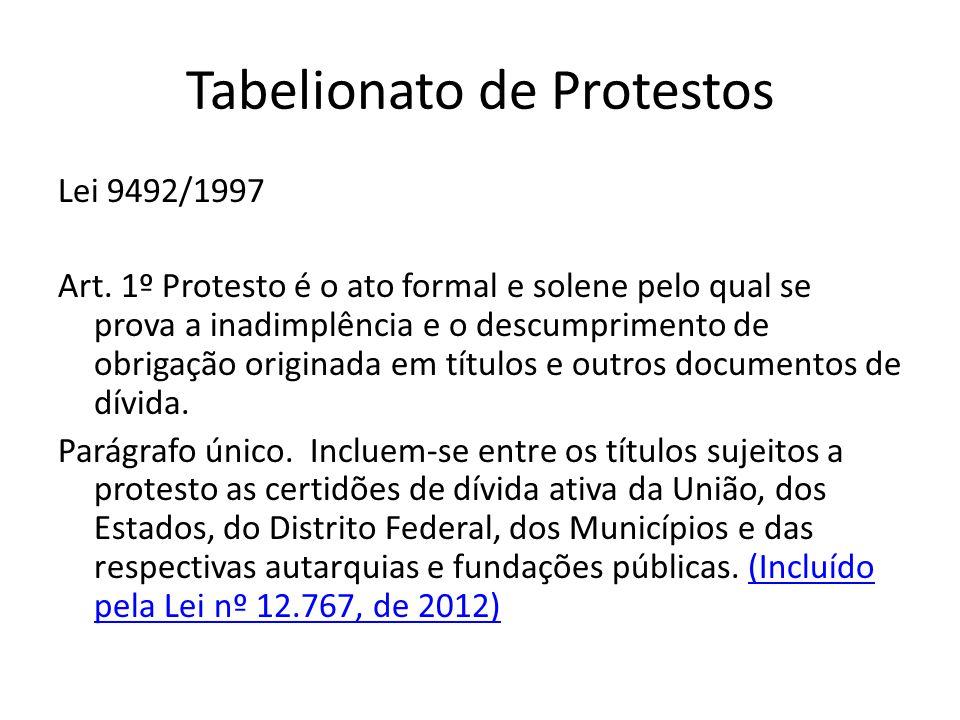 Tabelionato de Protestos