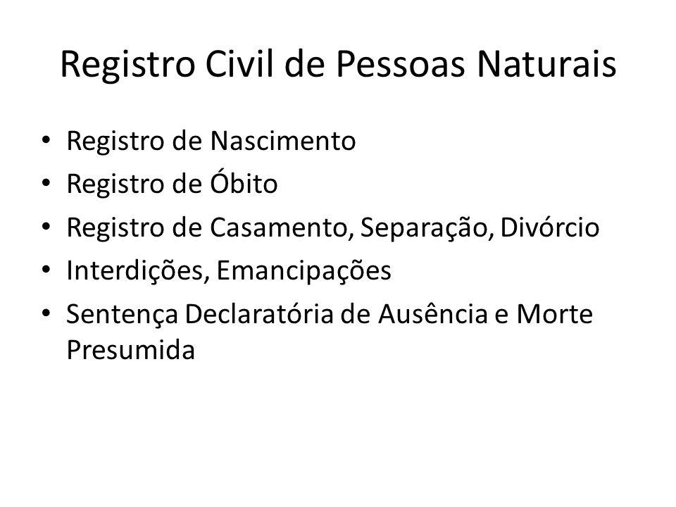 Registro Civil de Pessoas Naturais