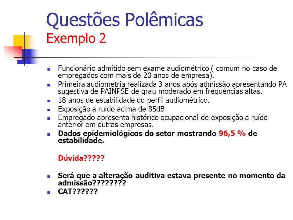 Questões Polêmicas Exemplo 2