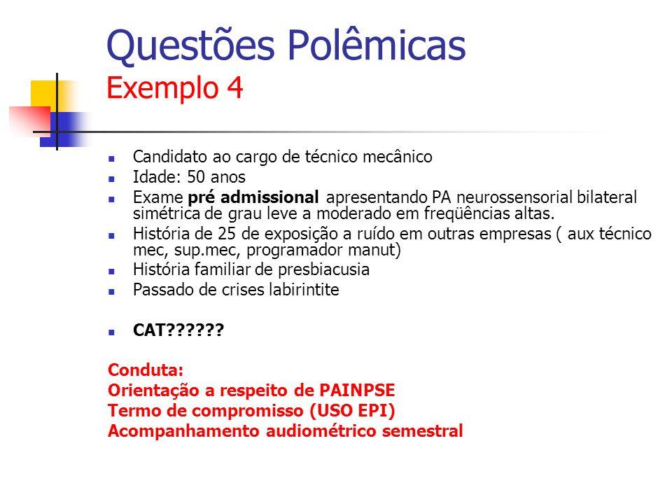Questões Polêmicas Exemplo 4