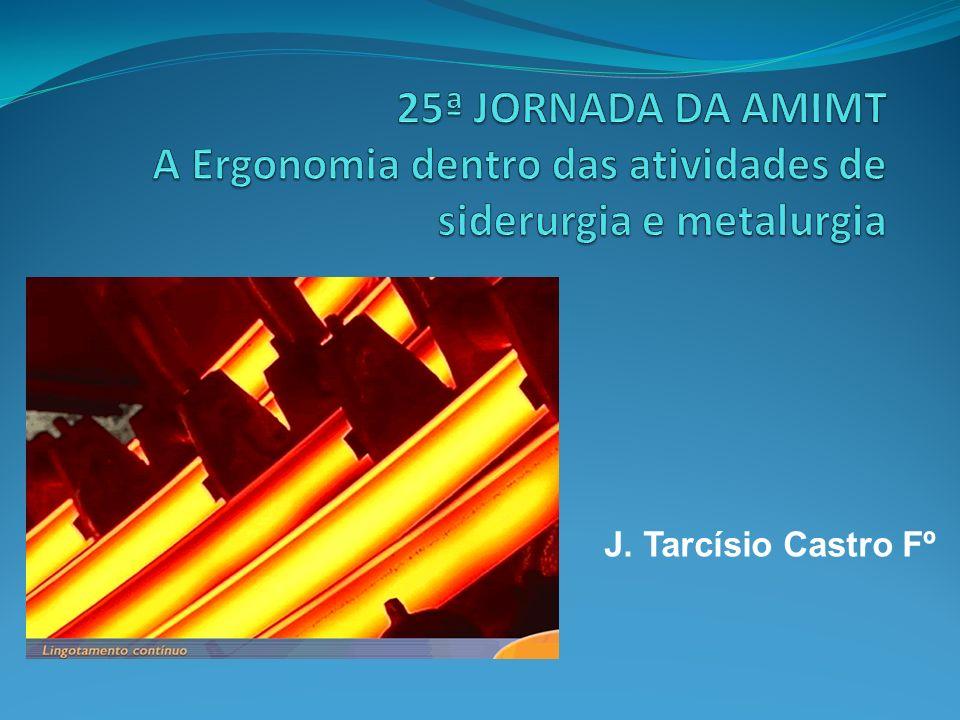 25ª JORNADA DA AMIMT A Ergonomia dentro das atividades de siderurgia e metalurgia