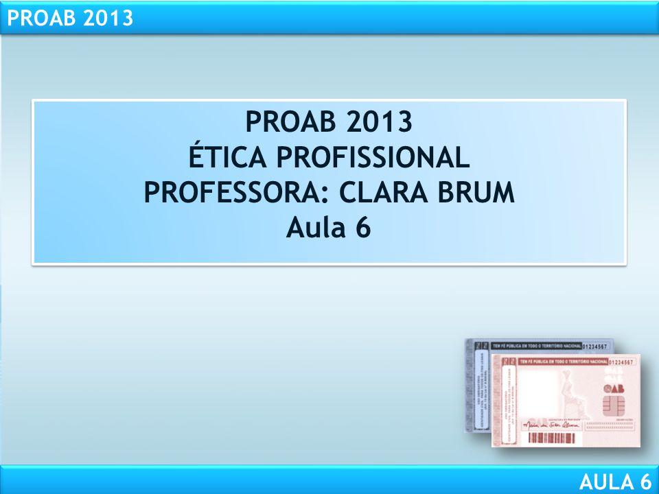PROFESSORA: CLARA BRUM